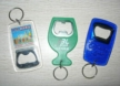Plastic Bottle Openers with Key Chain
