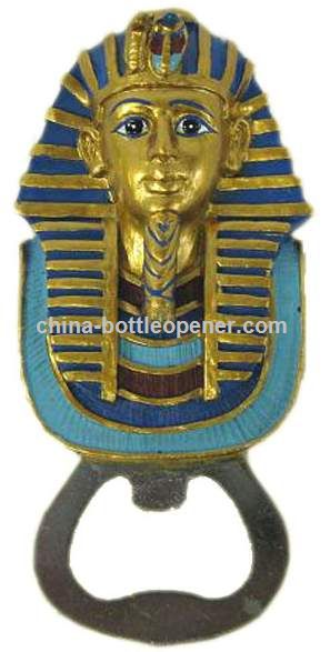 Polyresin Bottle Opener, Resin Bottle Opener, Egyptian Craft