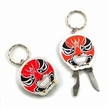 Aluminum Promotional Keychains with Can/Bottle Opener Features