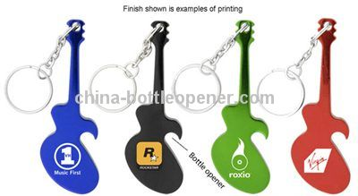 Promotional Guitar Key Chain