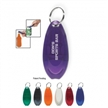 Plastic Dual Bottle Can Opener Key Ring