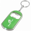 Bottle Opener Keychain with Mini LED Light