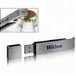 Metal Bottle Opener USB Flash Drive, Comes in Silver, with Low Power Consumption