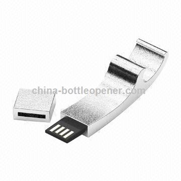 USB Flash Drive with Bottle Opener, Waterproof, Support USB 3.0